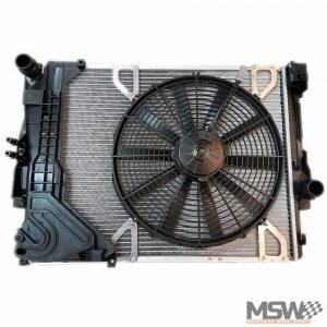 Spal fan installed