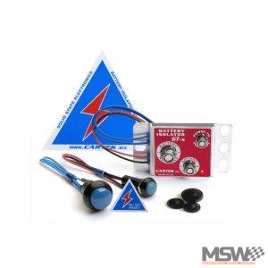 Cartek Battery Isolator Blue