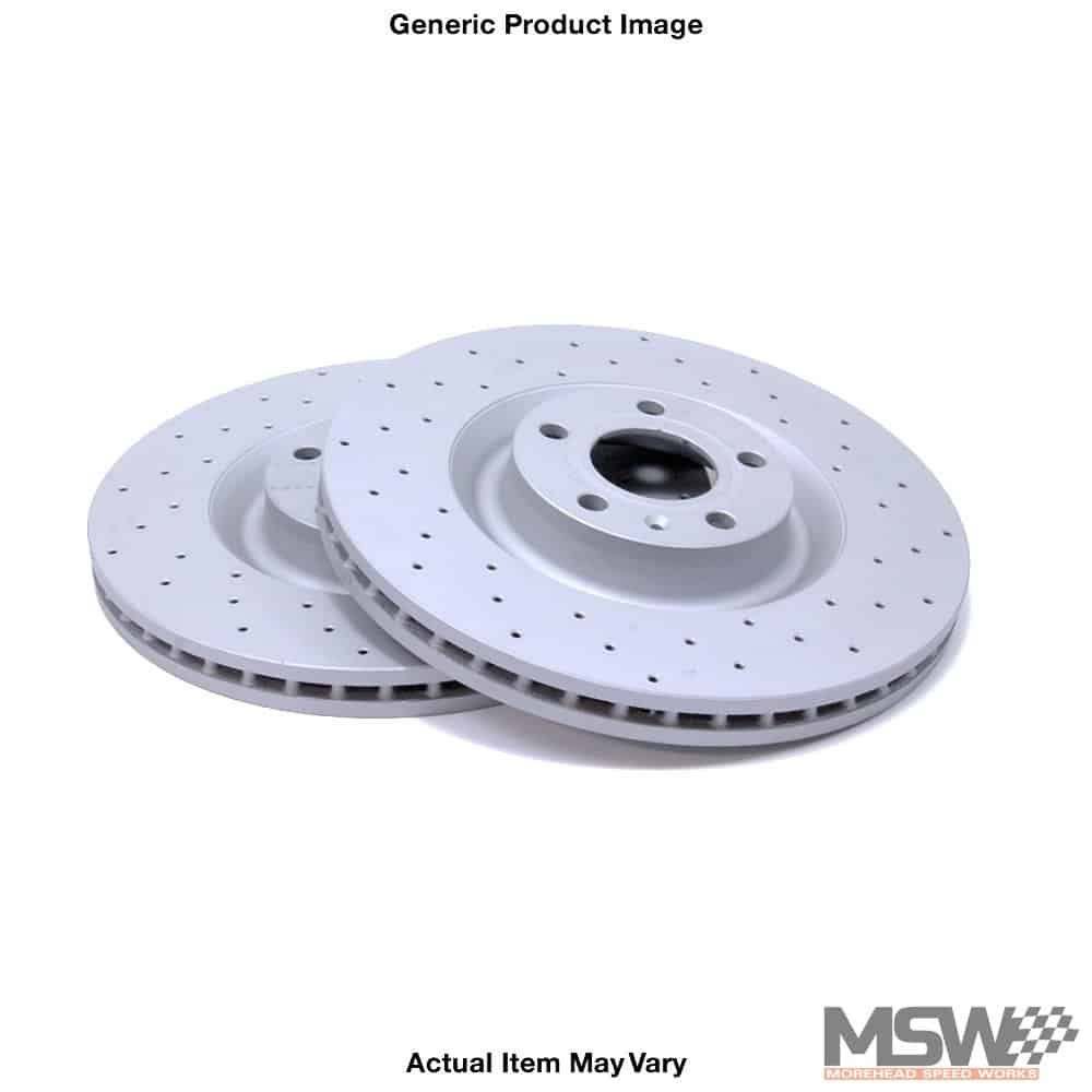 Cross Drilled Rotors >> Zimmermann Cross Drilled Rotors Front E9x E84 Morehead Speed Works