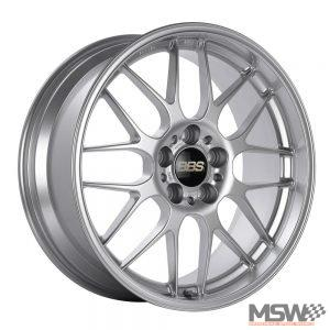 BBS RGR Diamond Silver